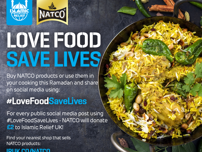 Islamic Relief Natco Ramadan Charity Food