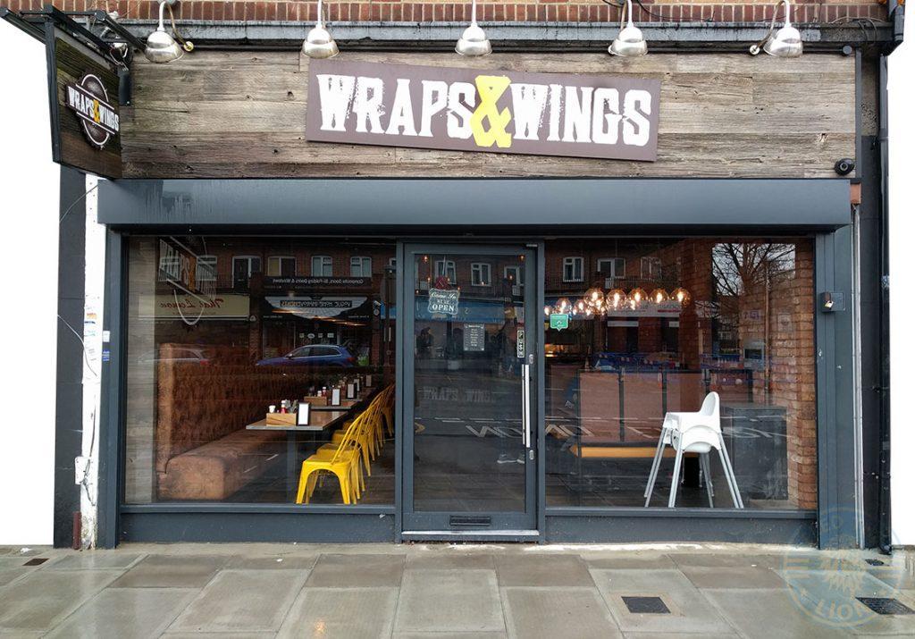 Wraps & Wings Eastcote London Halal Restaurant Burger