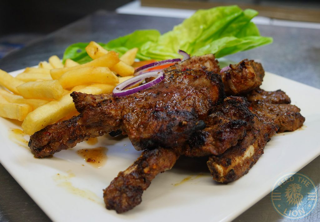 Cambridge Gourmet Grill Halal HMC Restaurant lamb chops