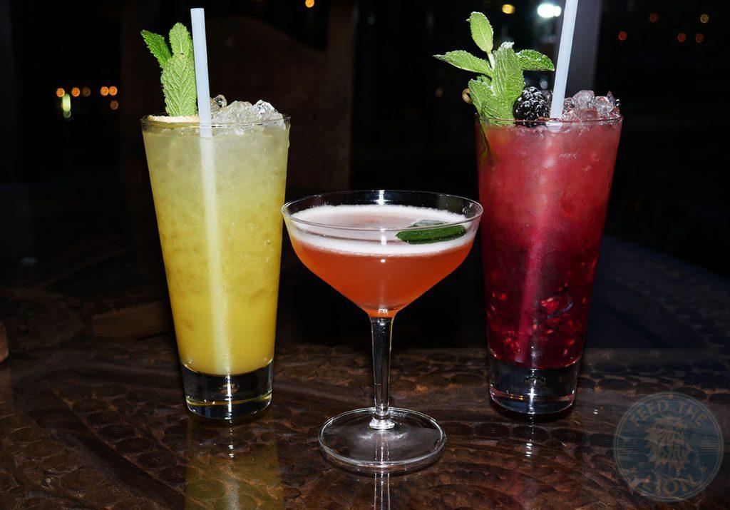 drink mocktails Chokhi Dhani Indian Halal restaurant Battersea