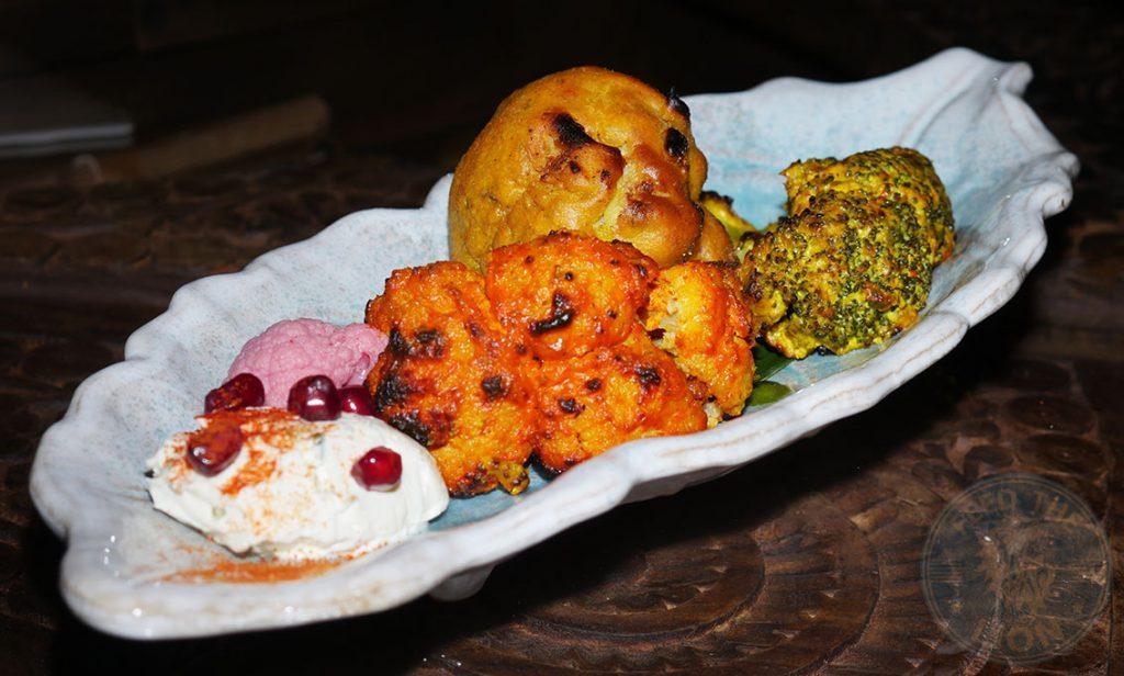 Cauliflower Chokhi Dhani Indian Halal restaurant Battersea