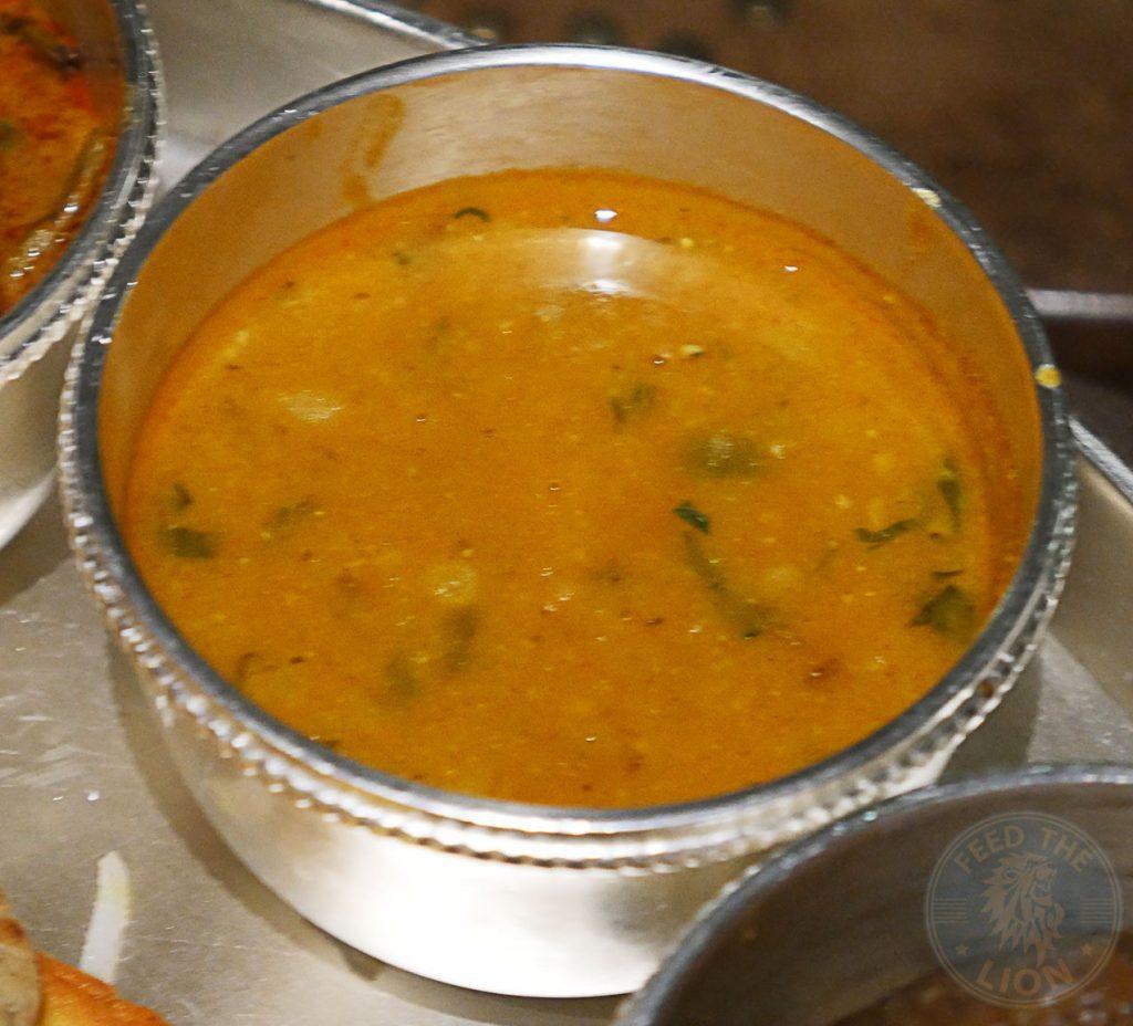 daal lentils Chokhi Dhani Indian Halal restaurant Battersea