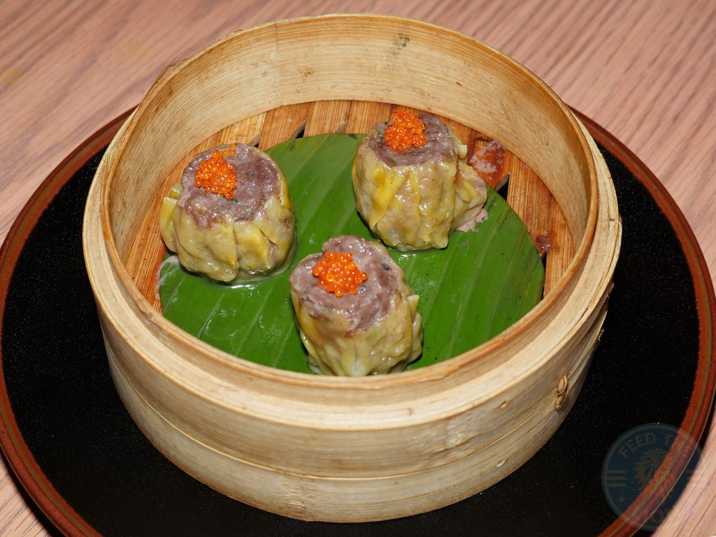 Wagyu Beef Siu Mai Chi Kitchen Halal Pan Asian London restaurant in Debenhams Oxford Street.
