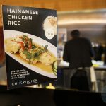chicken rice Chi Kitchen Halal Pan Asian London restaurant in Debenhams Oxford Street.