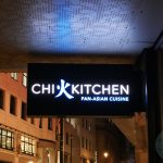 Chi Kitchen Halal Pan Asian London restaurant in Debenhams Oxford Street.