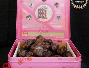 SKT welfare donate charity Ramadan Dates Palestine Pakistan Orphans