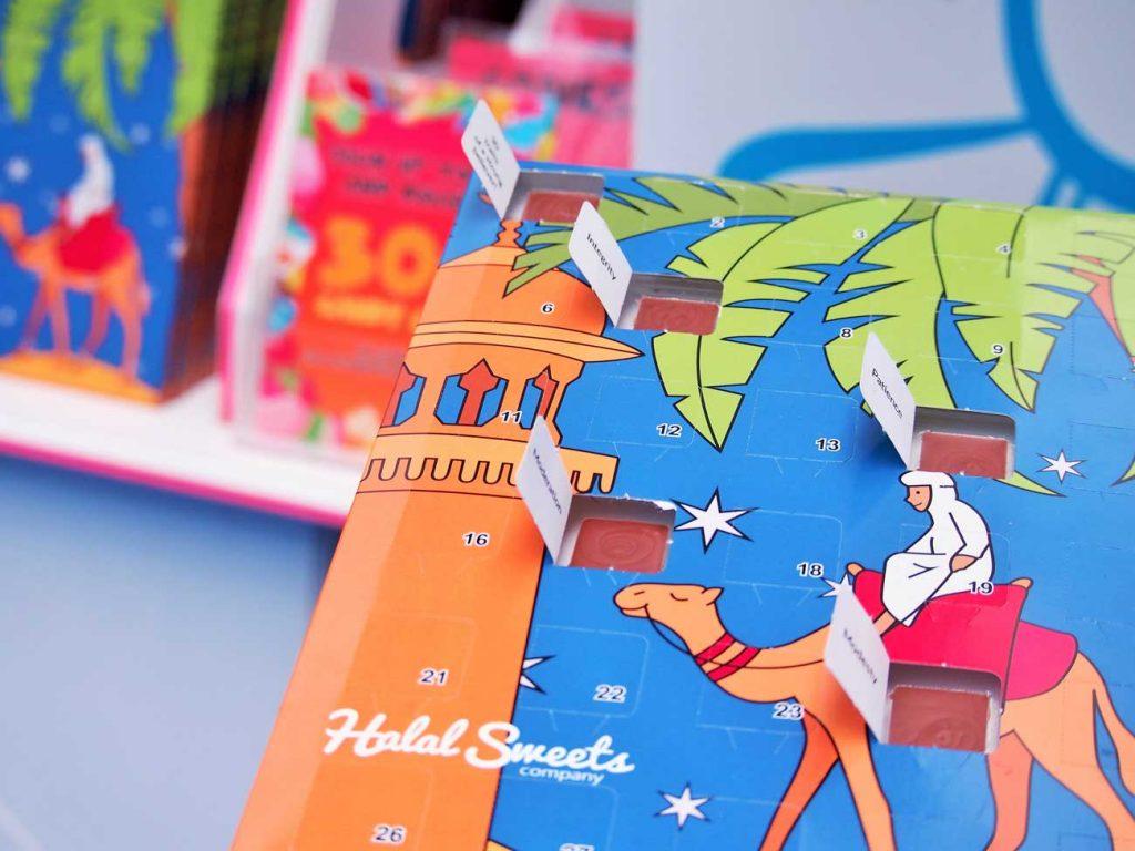 Halal Sweets Company Ramadan Calendar Belgium Chocolate