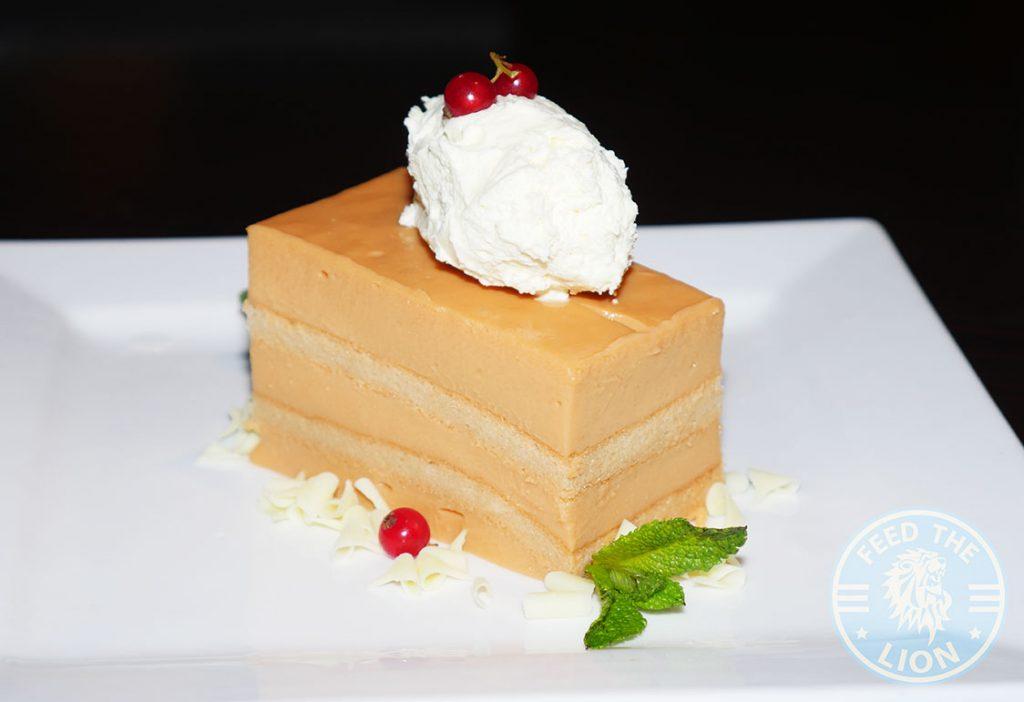 Mango Tree Thai Chinese Malaysian Fine Dining Belgravia Dessert Cake