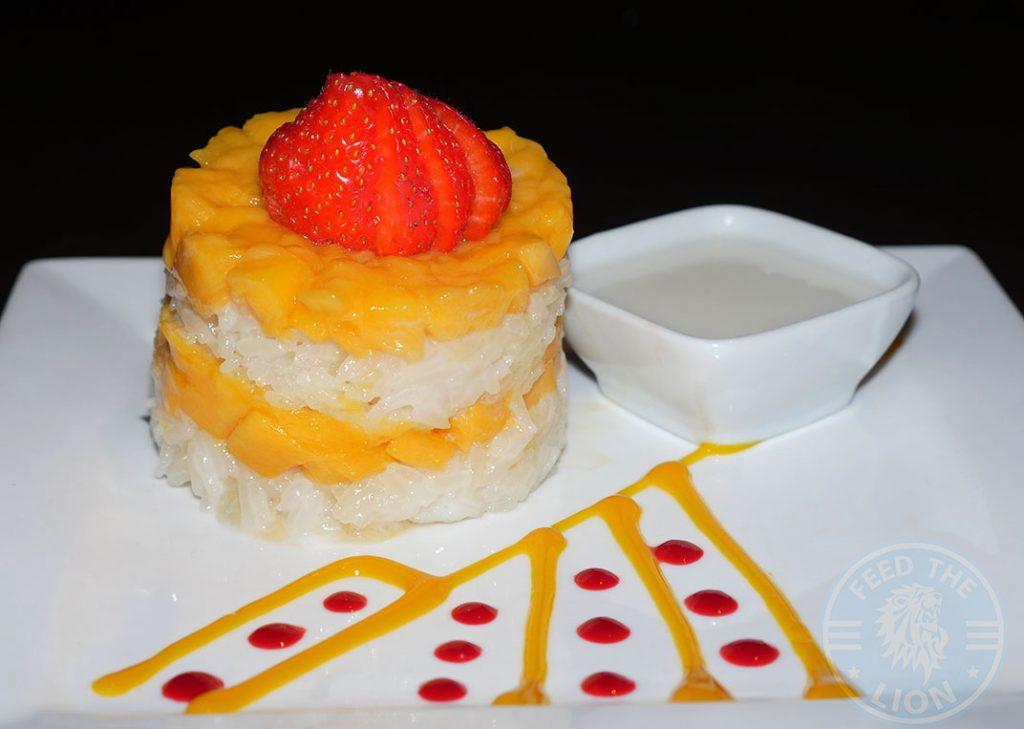 Mango Tree Thai Chinese Malaysian Fine Dining Belgravia Dessert Mango