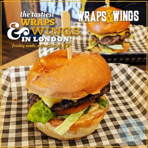 Wraps and Wings Eastcote London Halal Restaurant