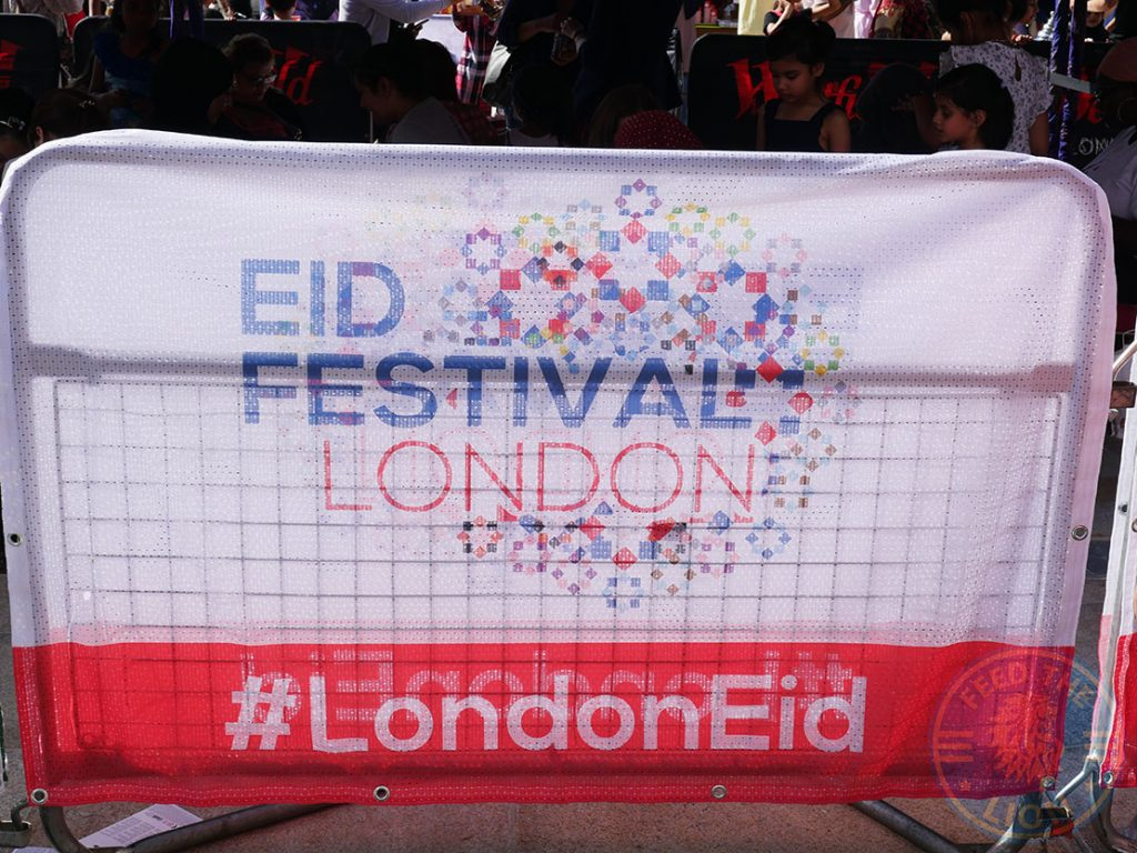 London Eid Halal Food festival Westfield White City #londoneid