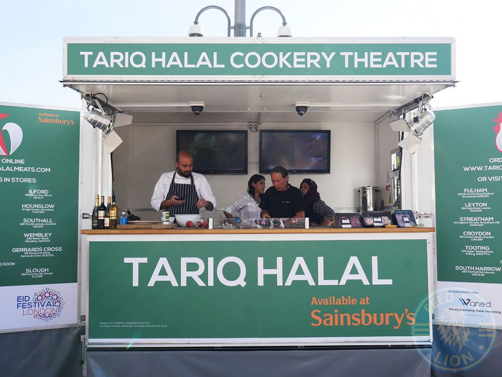 Tariq Halal London Eid Halal Food Festival in Westfield White City Tariq Halal cookery theatre