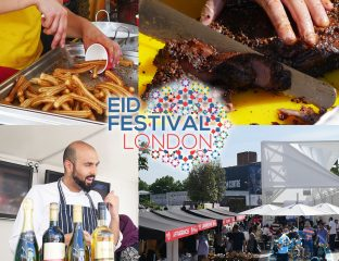 London Eid Halal Food Festival in Westfield White City