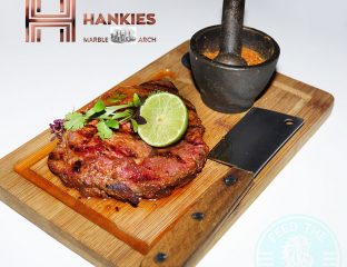 Hankies Marble Arch Indian Halal Restaurant