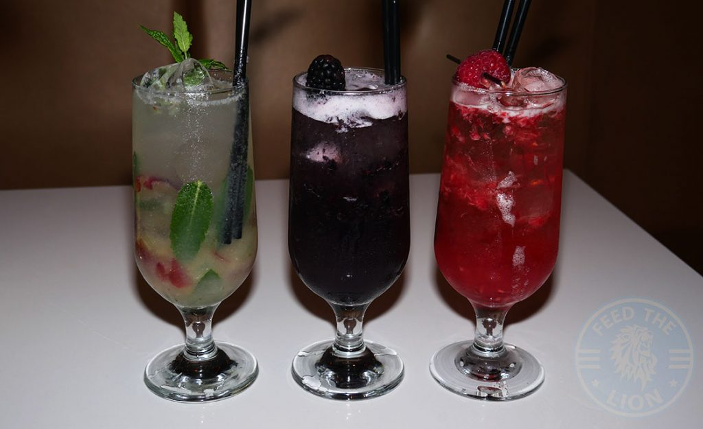 Hankies Restaurant Marble Arch Indian Curry Beverages Mocktails