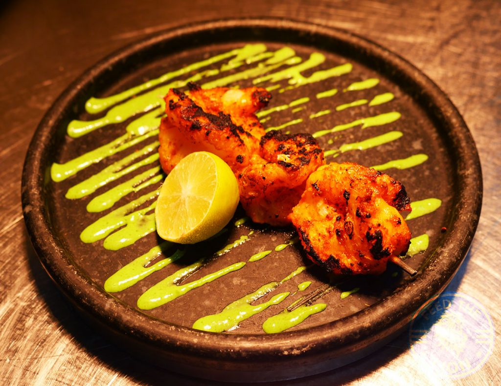 Hankies Restaurant Marble Arch Indian Curry Prawns Halal