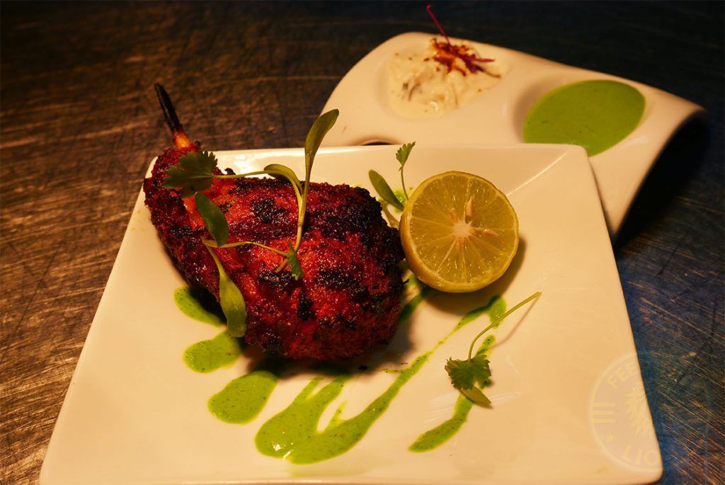 Hankies Restaurant Marble Arch Indian Curry Halal Lamb Chops