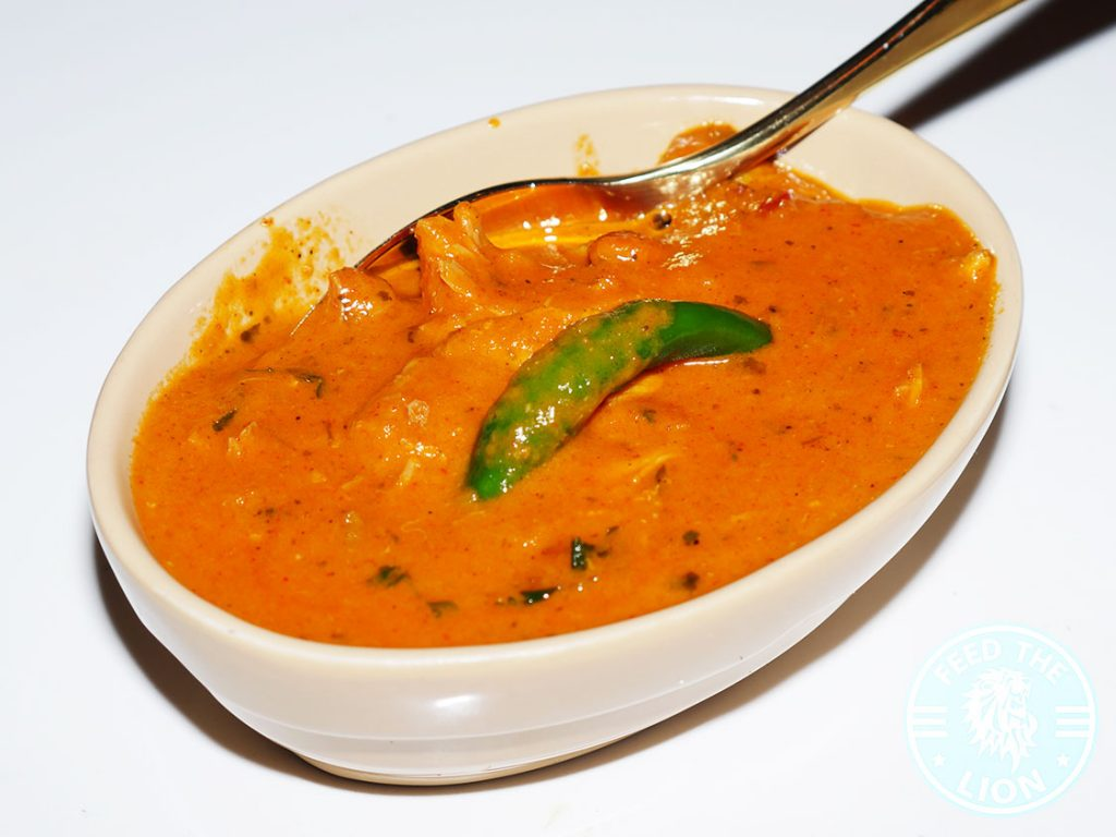 Hankies Restaurant Marble Arch Indian Curry butter Chicken Halal