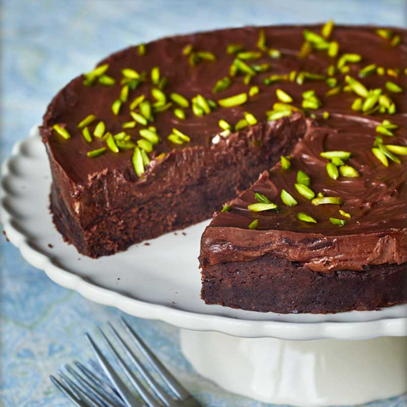 Lina Saad Eid Chocolate Cheesecake