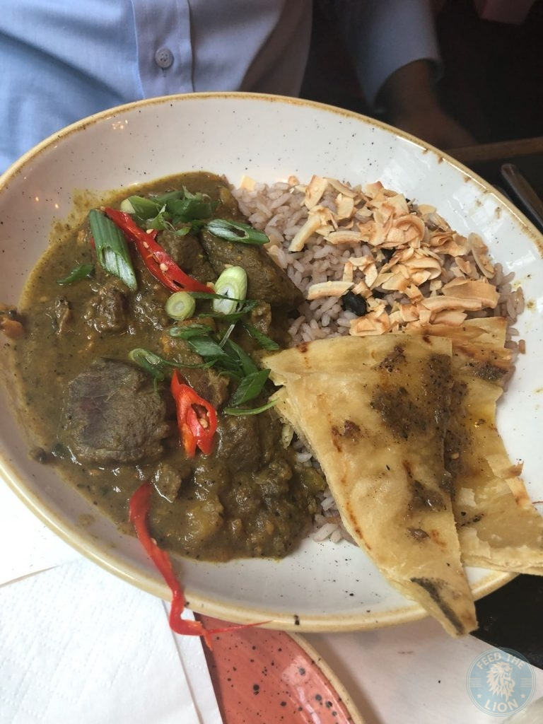 Rum Kitchen Halal Kingly Court London Restaurant CURRY MUTTON