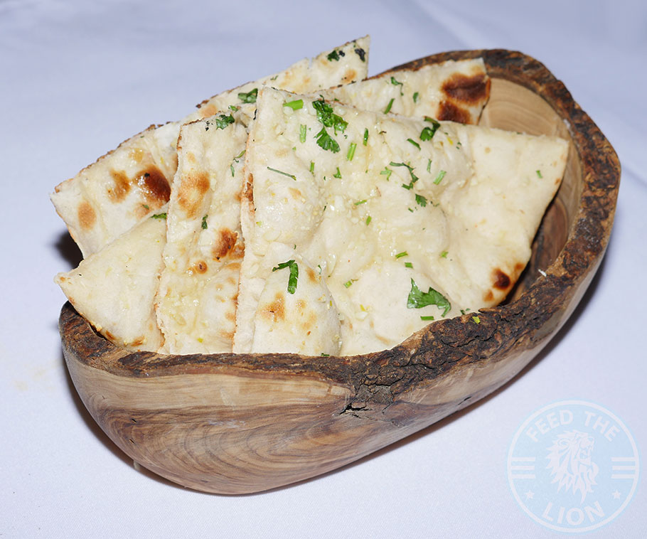Chakra Restaurant Indian Kinsington London Curry Naan bread
