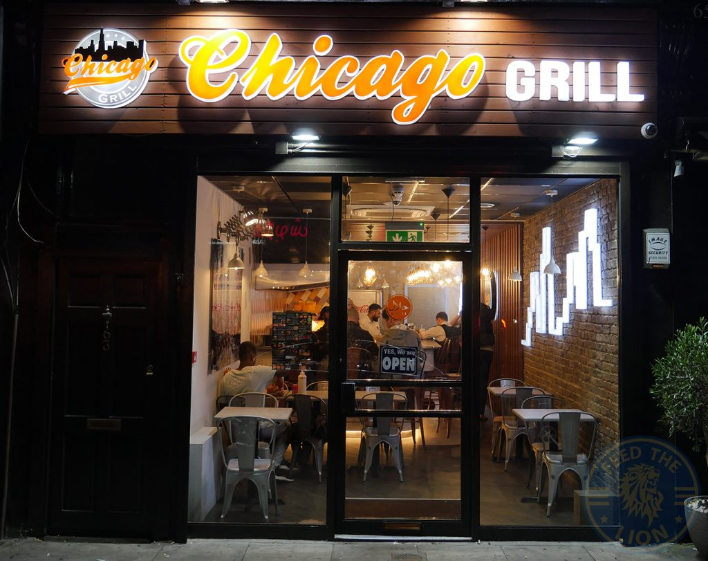Chicago Grill Halal Burger restaurant Shephards Bush