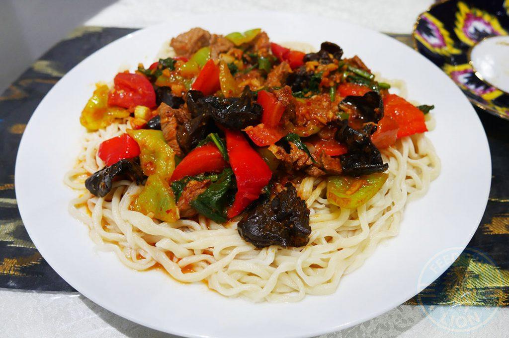 Etles Uyghur Uighur Restaurant Chinese Walthamstow London Xiangxing noodles