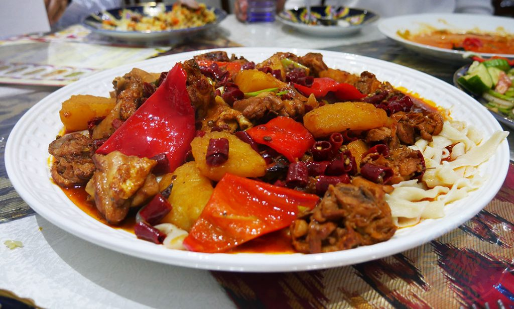 Etles Uyghur Uighur Restaurant Chinese Walthamstow London Xiangxing chicken