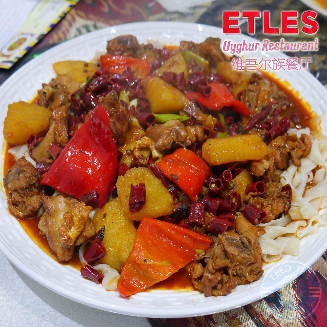 Etles (Uyghur) - Walthamstow, London - Feed the Lion