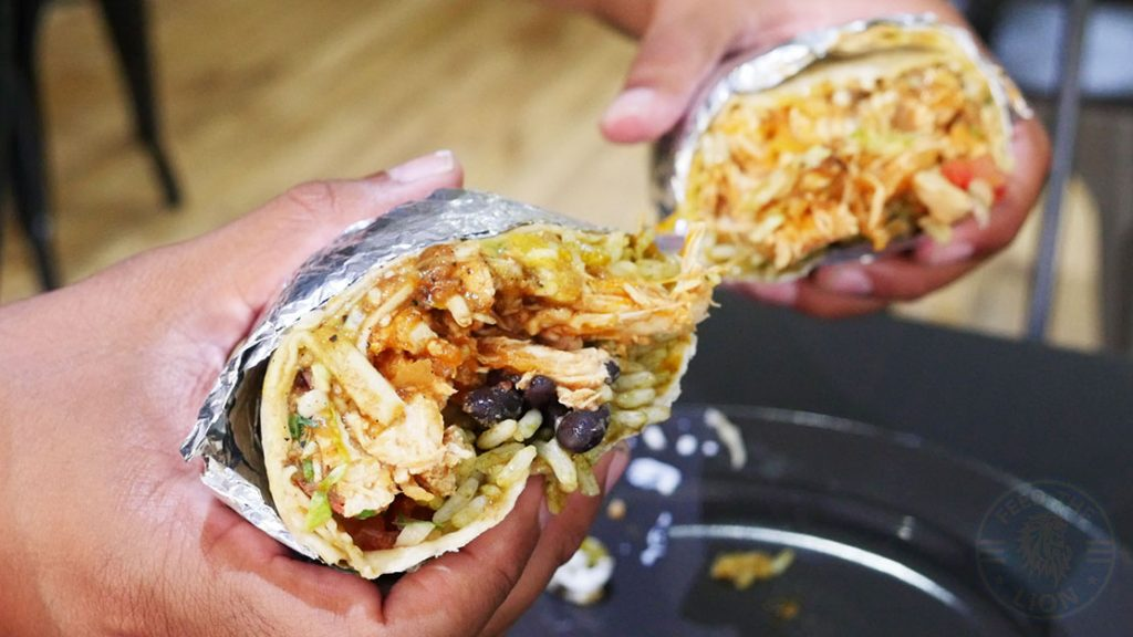 Chicken Tinga Burrito Fire Bean Halal HFA