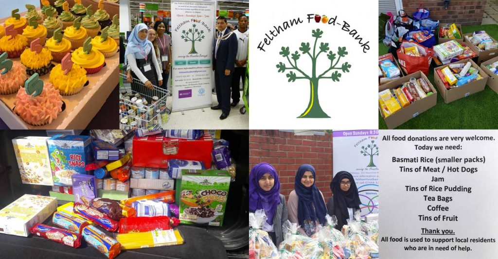 feltham food bank charity hounslow london