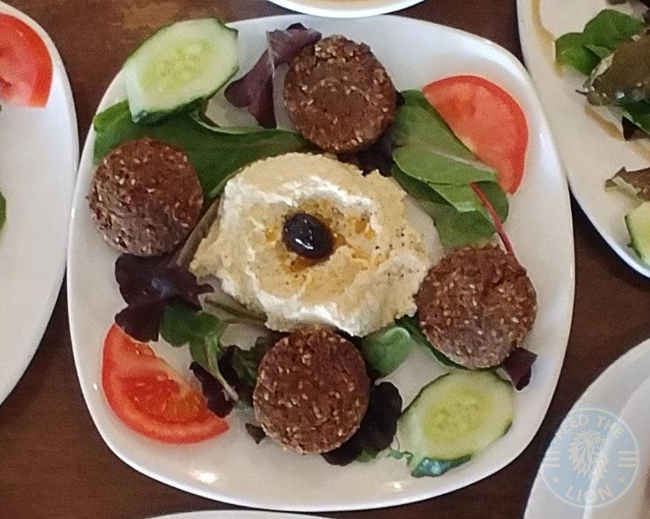 Kervan sofrasi Turkish Kebab House Halal Edmonton Homemade Falafel