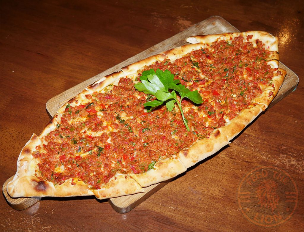K?ymal? Pide Kervan sofrasi Turkish Kebab House Halal Edmonton