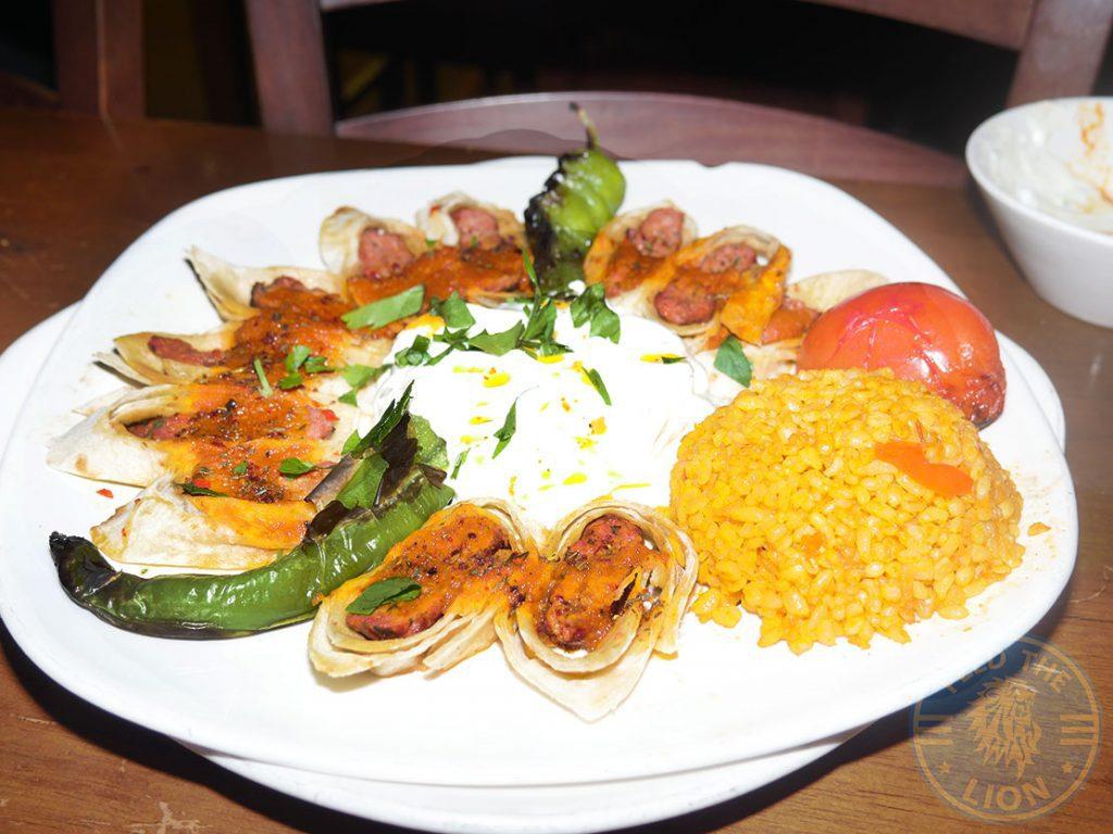 Kervan sofrasi Turkish Kebab House Halal Edmonton Sarma Kuzu Beyti