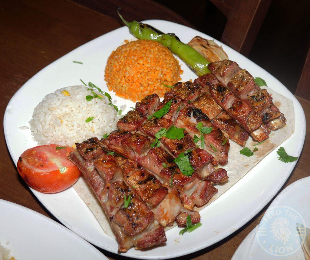 Kervan sofrasi Turkish Kebab House Halal Edmonton Lamb Ribs