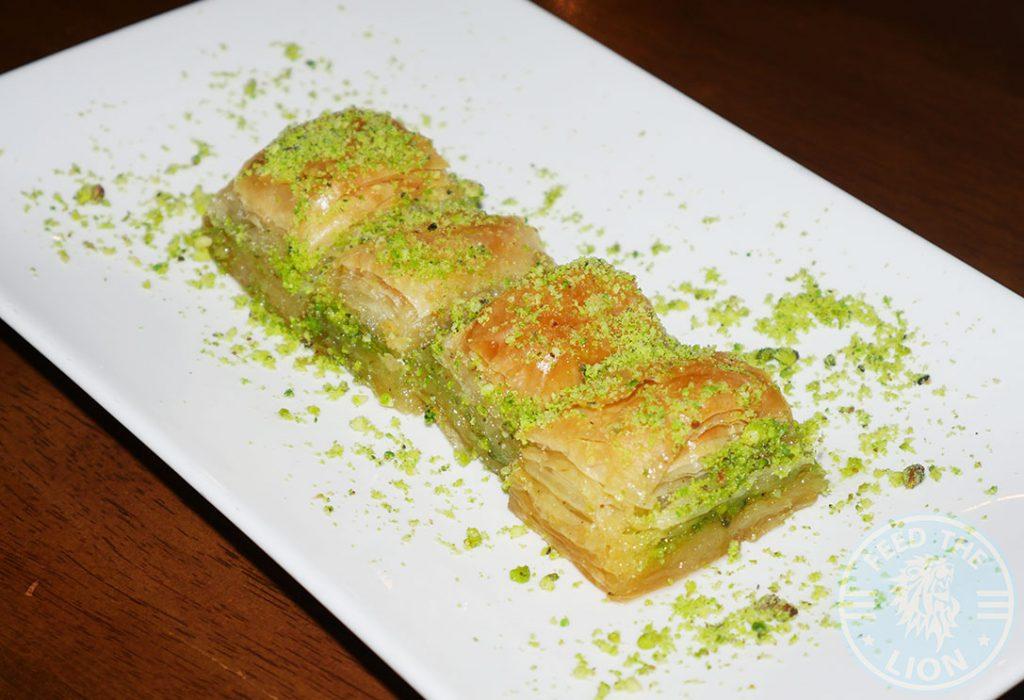 Kervan sofrasi Turkish Kebab House Halal Edmonton Baklava Dessert