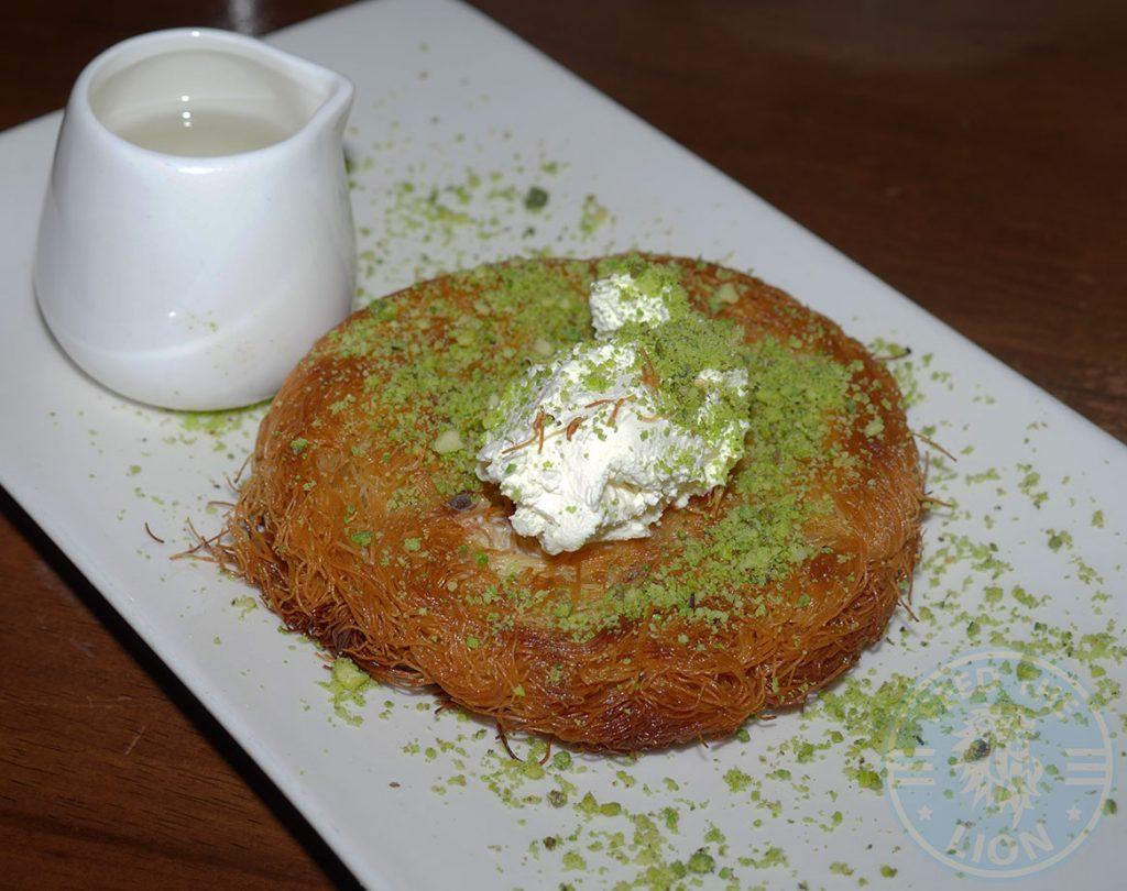 Kervan sofrasi Turkish Kebab House Halal Edmonton Dessert Kunefe