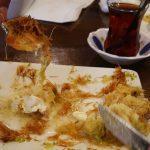 Kervan sofrasi Turkish Kebab House Halal Edmonton Kunefe Dessert