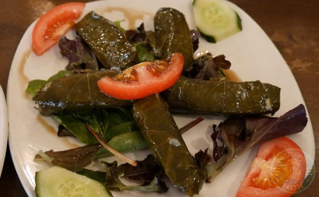 Kervan sofrasi Turkish Kebab House Halal Edmonton Vine Leaves