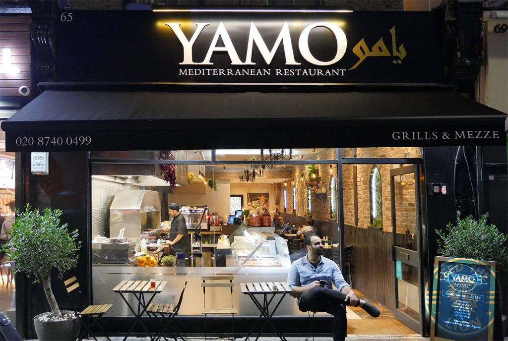Yamo Halal Mediterranean Shephards Bush Restaurant