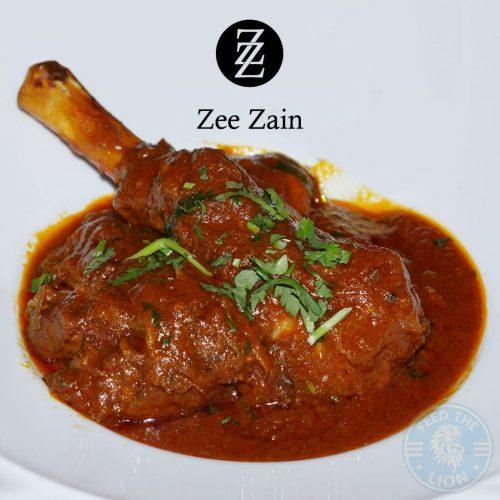 Zee Zain Indian Halal restaurant Kensington, London