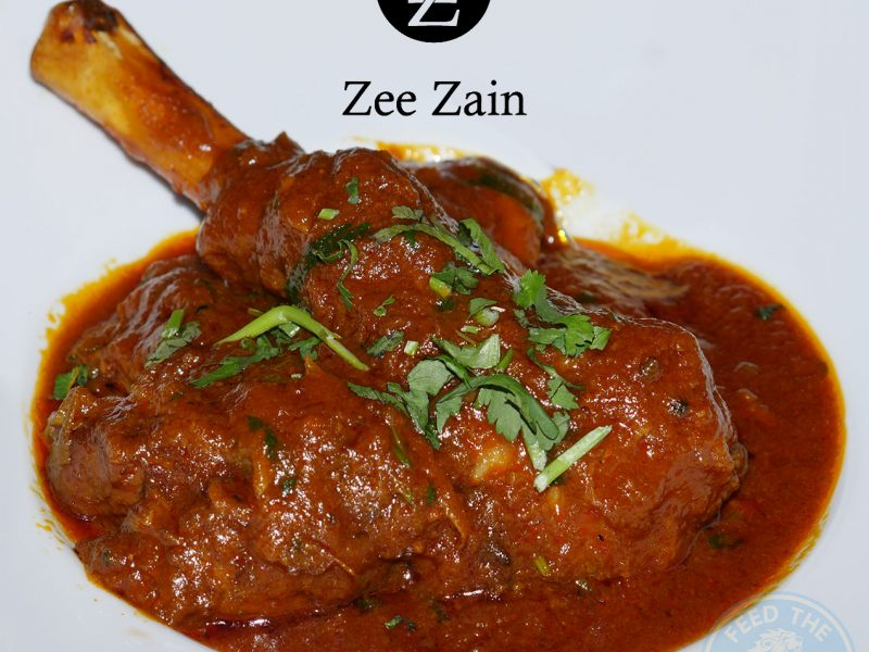 Zee Zain Indian Halal restaurant Kensington, London