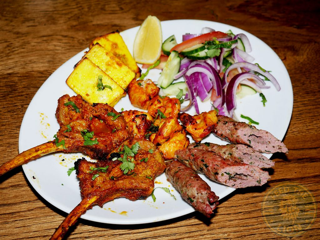 ZeeZain Indian Halal restaurant Kensington, London grill lamb chops kebabs paneer chicken tikka