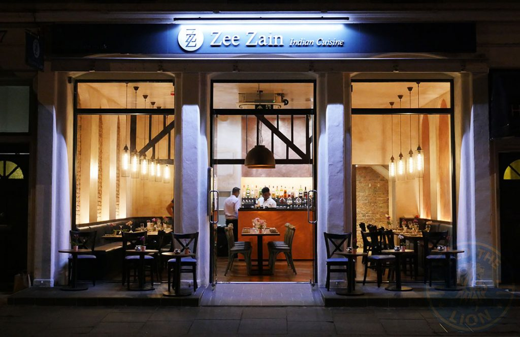 ZeeZain Indian Halal restaurant Kensington London