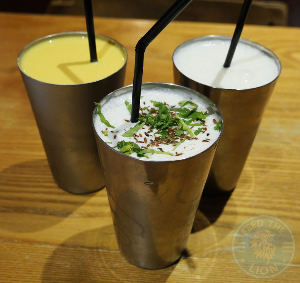 drinks beverage lassi Chapati Club Indian Halal restaurant Acton