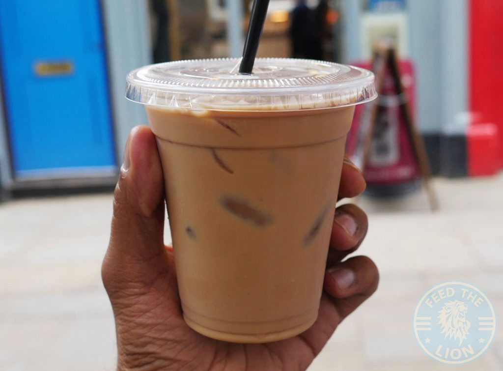 Dapur Halal Malaysian Holborn London Tek Tarik Tea