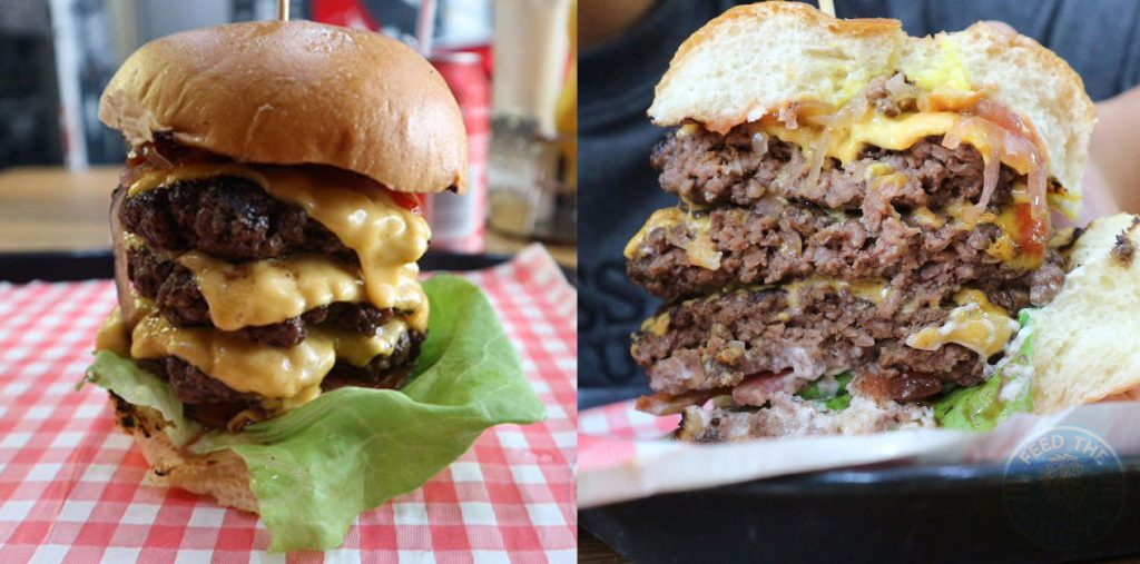 Fatboyz Diner Halal barking burger