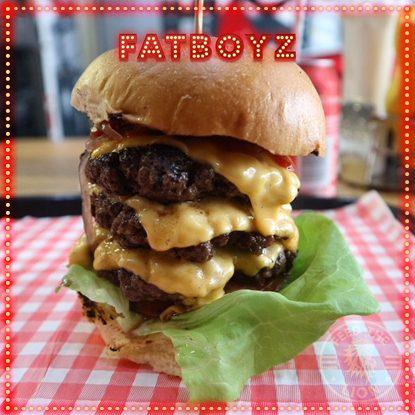 Fatboyz Diner Halal brarking burger
