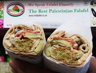 Mr Falafel Palestinian halal Shephards Bush