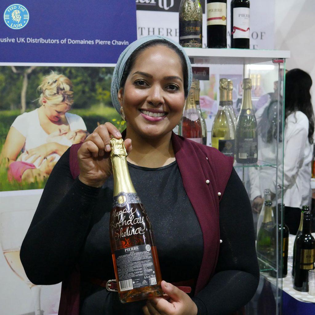 shelina permalloo masterchef Azanta Bespoke Henna London Halal Food Festival - Tobacco Dock 2018